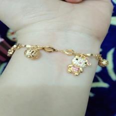 Kualitas Gelang Gold Kitty Cantik Xuping Xuping Jewelry