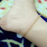 Review Tentang Gelang Kaki Nuri Gold Cantik Xuping
