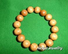 Gelang Kayu Cendana / Cendono / Wangi Super Asli / Terapi Kesehatan.... Nesya Jewellry