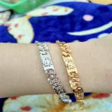 Spesifikasi Gelang Kitty Kecil Gold Silver Cantik Xuping Yang Bagus