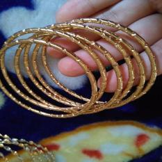 Promo Gelang Kroncong Isi 5 Gold Xuping Xuping Jewelry