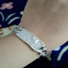 Spesifikasi Gelang Plat Kitty Cantik Silver Xuping Jewelry