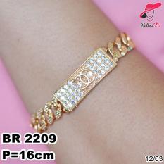 Gelang Rantai Chanel Gold R 2209