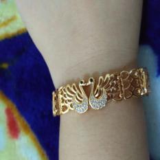Harga Gelang Sepasang Angsa Xuping Cantik Asli Xuping Jewelry