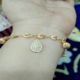Jual Gelang Tangan Mewah Cantik Xuping Gold Xuping Jewelry Grosir