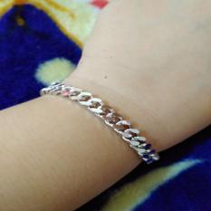 gelang tangan rantai kecil silver xuping