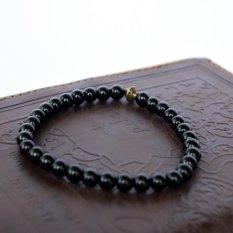 Harga Gelang Tasbih Batu Black Onyx Asli 100 Rizacraft Asli