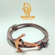 Jual Gelang Virginstone Jangkar Rose Gold Anchor Fog Nautical Rope Virginstone Grosir