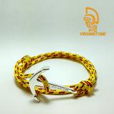 Gelang Virginstone Silver Anchor Yellow Diskon Indonesia