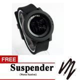 Jual Gelegar Barong Jam Tangan Digitec Sport Digital 3037 Black Free Suspender Import