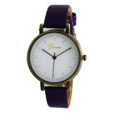 Spek Geneva Ladies Vintage Watch Ungu Kulit Gnv Lvw 0801 Purp Geneva