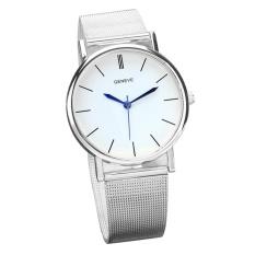Geneve Women's Fashion Watch Stainless Steel Band Quartz Wrist Watches SL - intl