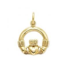 Asli IceCarats Designer Jewellery Hadiah 14 K Claddagh Anting-Anting-Internasional