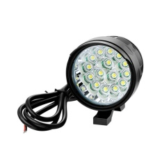 Promo Getek 12 V 85 V Motor Spot Xm L T6 Penggerak Led Headlight Fog Lamp Spot Light 15Led Intl Getek Terbaru