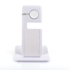GETEK Portable Apple Watch Bracket + Charging Bracket untuk I5 I6/I6 Plus IPad (Putih)