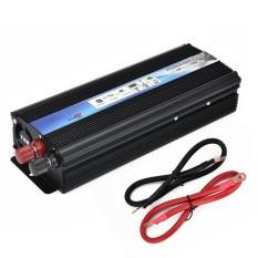 Gift 12V DC To AC 110V Auto Inverter 2000W Car Power Pure Sine Inverter - intl