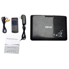 Gift 9.8 Inch Portable Mobile DVD Player Hi-speed USB Multimedia Player Support TV VCD CD MP3/4 FM Game Home DVD Player black - intl