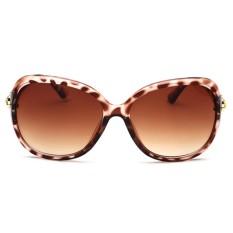 Hadiah Modis Wanita Pria Kacamata Hitam AC Damar Lensa Anti Ultraviolet Kacamata Kacamata C5-Internasional