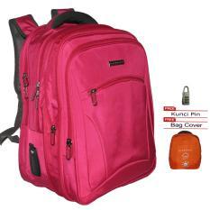 Spesifikasi Giordano 66015 Backpack Laptop Expandable Original Import Free Raincover Dan Kunci Pin Rose Beserta Harganya