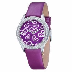 Giordano - Jam Tangan Wanita - Silver-Violet - Strap Violet - 2670-03