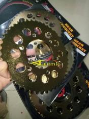 GEAR SET YAMAHA SCORPIO 415/41T-45T GOLD XTREME RACING