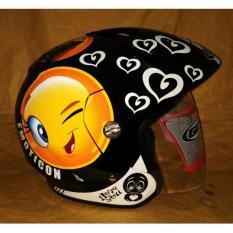 GIX Crusher motif Emoticon (Orange)
