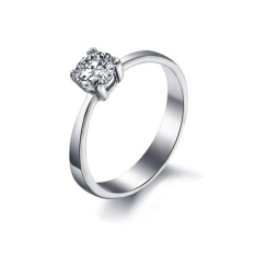 Ulasan Lengkap Tentang Gj7004 Wanita Fashion Cincin Baja Titanium Perak Ukuran Kami 7