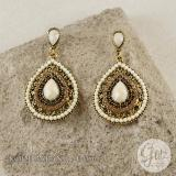 Glitzaksesoris E 056 57 Anting Drop Dangle Vintage Bohemian Glitzaksesoris Diskon