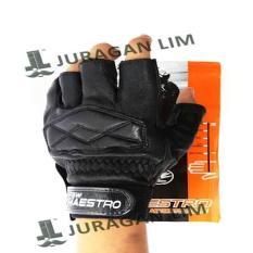 Glove / Sarung Tangan Kulit Domba NEW MAESTRO HALF
