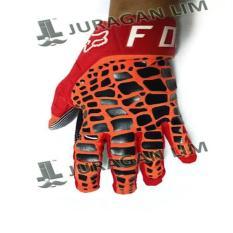Gloves / Sarung Tangan FOX DIRTPAW - 360 GRAV MERAH [2017]