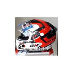 GM Helm Race Pro X-Race / Racepro X Race Double Visor