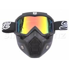 Harga Goggle Alien Snail M20 Mask Modular Google Mx20 Masker Topeng Pelangi Rainbow Snail Original