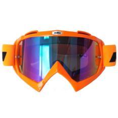 Jual Goggle Racing Motocross Ktm Pelangi Google Orange Rainbow