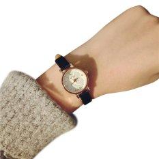 Gogoey 053 Jam Tangan Fashion Tali Kecil -Hitam-