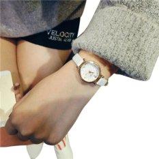 Gogoey 053 Jam Tangan Fashion Tali Kecil -Putih-