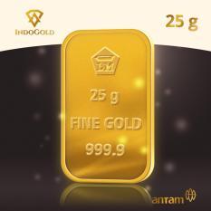 Gold Antam Emas Logam Mulia 25 Gram