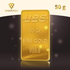 Gold Logam Mulia Emas UBS Untung Bersama Sejahtera 50 Gram