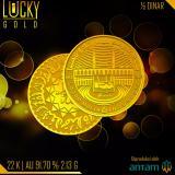 Jual Beli Gold Logam Mulia Koin 1 2 Dinar 2 13 Gram 22 Karat Bersertifikat Antam Di Indonesia
