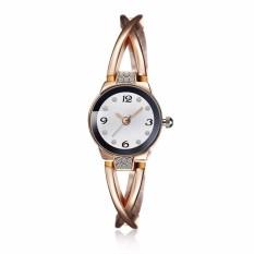 Emas Jam Tangan untuk Wanita Wanita Diamond Watches NewArrival Diskon Toko Online dengan Harga Murah-Intl