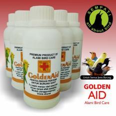 Golden Aid Alami Bird Care Obat Burung Sakit Kurus Macet Bunyi Penambah Nafsu Makan