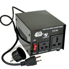 Goldsource STU-200 Step Up/Down Voltage Transformer Converter-AC 110/220 V-200 Watt-Intl