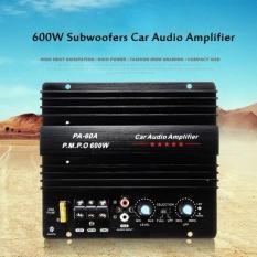 Baik 12 V 600 W High Power Mobil Penguat Suara Bass Yang Kuat Subwoofer Amp Pa-60a Hitam-Intl