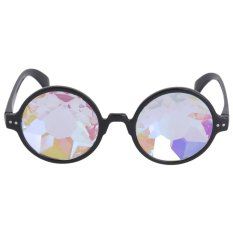 Jual Good Fashion Vintage Round Kaleidoscope Sunglasses Men Women Designer Eyewear Black Intl Di Bawah Harga