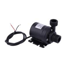 Iklan Baik Ultra Tenang Mini Lift 5 M 800L H Motor Tanpa Sikat Submersible Pompa Air Dc12V Hitam Intl