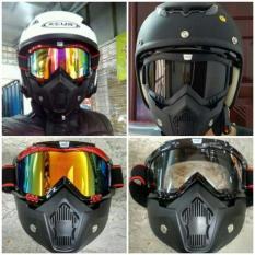 Toko Google Dan Masker Model Helm Pilot Jet Tempur Mirip Shark Raw Best Seller Jawa Timur