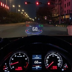 Gophly E300 5.5 Inch Mobil Digital Speedometer HUD OBD2 Kepala Up Display Kecepatan Mobil Proyektor Kaca Depan Overspeed Alarm Aman Mengemudi Konsumsi Bahan Bakar Lelah Driver Pengingat Tegangan Rendah Alarm Dll. Aksesoris-Intl