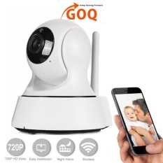 GOQ Q3 IP CAM 720P HD Wifi Home Office Security Camera P2P Pan TiltWireless CCTV Night Vision