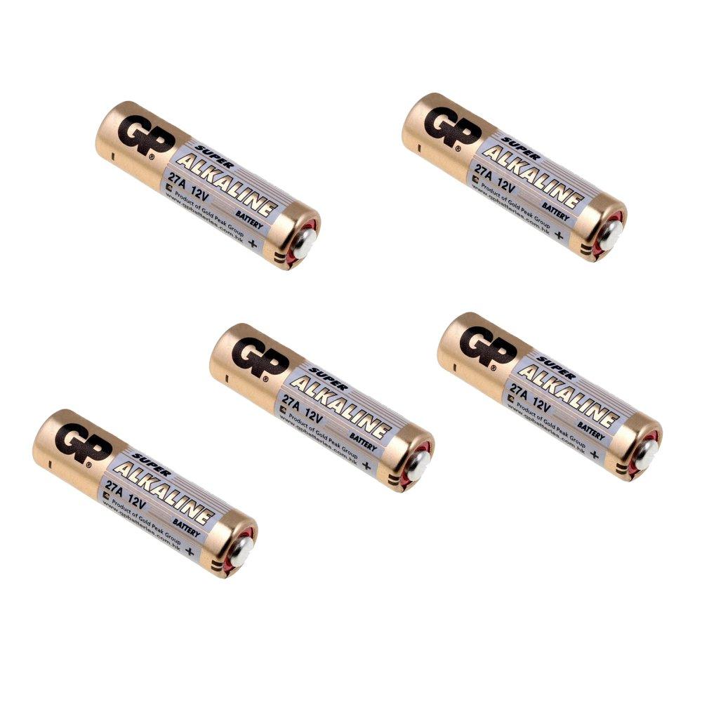 Gp Batteries 5 Pcs Baterai Remote 27a/ Batery Remote Alarm Mobil Remote Alarm Motor By Virgo Shop.