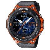 Review Pada Gpl Casio Mens Pro Trek Quartz Resin Outdoor Smartwatch Warna Oranye Model Wsd F20 Rgbau Kapal Dari Amerika Serikat Intl