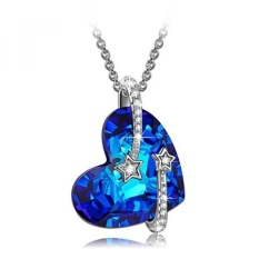GPL/ LadyColour 925 Sterling Silver Venus Pendant Necklace Swarovski Crystals Jewelry for Women Girls Christmas Gifts for Girls Xmas Gifts Ideas 2017 Birthday Anniversary Gifts for Her/ship from USA